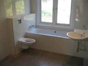 Diensten - Badkamers